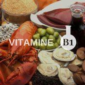 Vitamine B1 : bienfaits, propriétés et risques ou maladies en cas de carence