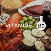 Vitamine B5 : bienfaits, propriétés et risques ou maladies en cas de carence